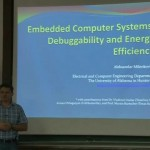 "Predavanje ""Embedded Computer Systems: Debuggability and Energy Efficiency"""