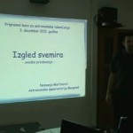 Predavanja iz astronomije za srednjoškolce